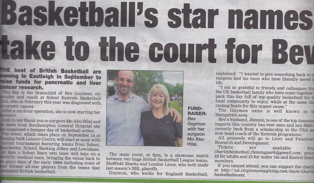 Basketball Star Names Take To The Court For Bev